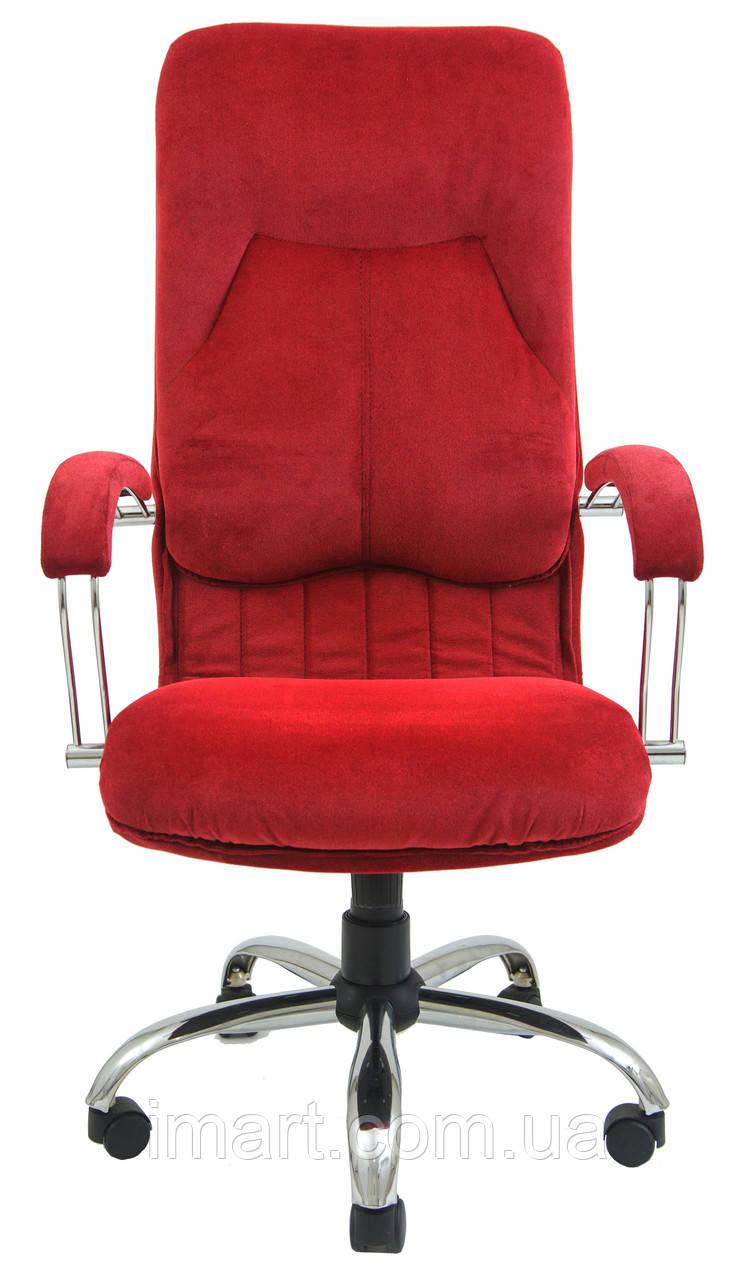 Купить Кресло для руководителя Никосия хром к/з Флай/Неаполь, Richman