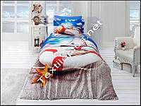 Комплект постельного белья 3D сатин Coast First Choice Турция