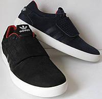 Супер! Adidas А1 2017 кроссовки кеды липучка адидас мужская обувь кожа