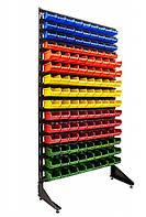 Стелаж складський для метизних ящиків односторонній 1800мм 135 ящиків , фото 1