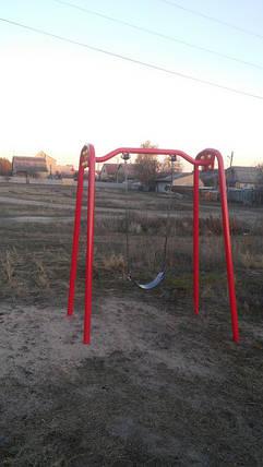 Качели одинарные на цепях ТЕ406, фото 2