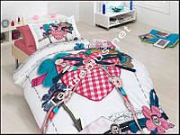 Комплект постельного белья 3D сатин Lovable First Choice Турция