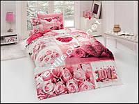 Комплект постельного белья 3D сатин Aldea First Choice Турция