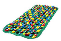 Коврик массажный с цветными камнями Onhillsport 100 х 40 см