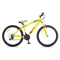 """Велосипед собранный почта 26"""" Formula NEVADA AM 14G     St  желтый  2015"""