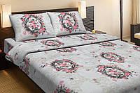 Двуспальное постельное белье хлопок Lotus ANGELIQE V1 розовый LT10