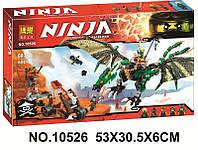 Конструктор Bela 10526 Ninja Ниндзя Зелёный энерджи дракон Ллойда
