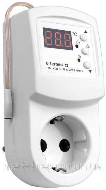 Розеточный терморегулятор Terneo RZ - МедДнепр ТЦ Космос медтехника и товары для дома в Днепре
