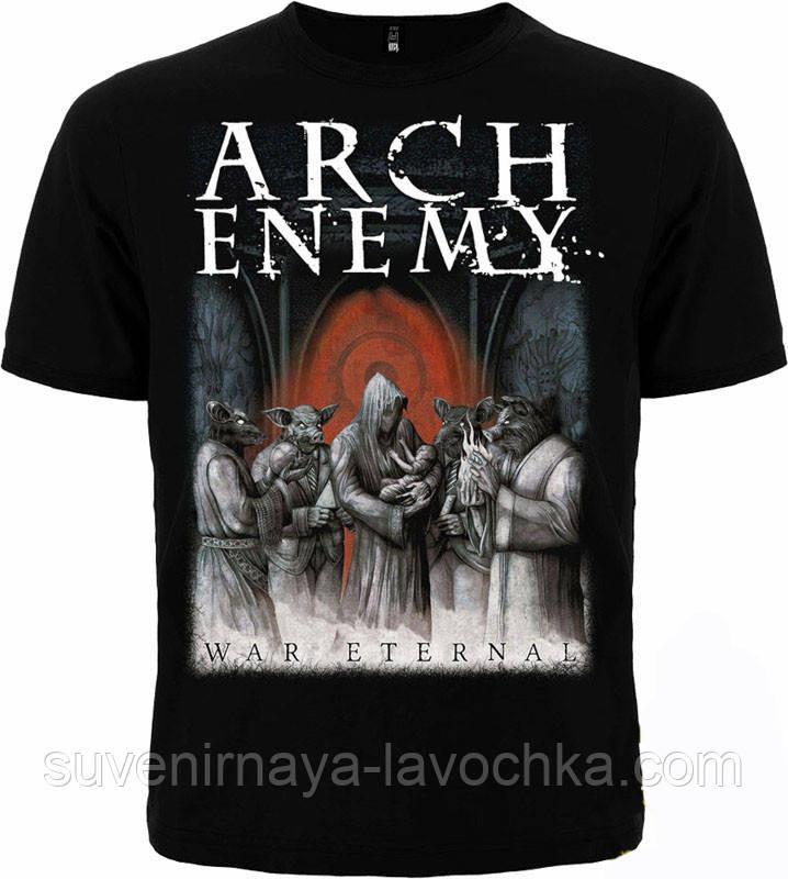 Рок футболка Arch enemy. War eternal