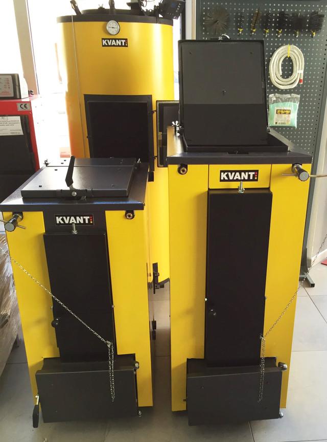 Котлы Квант - твердотопливные котлы с верхней загрузкой топлива