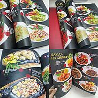 Изготовили меню для китайского ресторана, дизайн и печать.