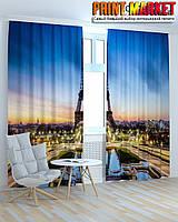 Фотошторы Франция башня