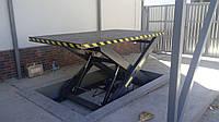 Одноножничный подъемный стол