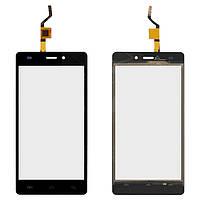 Сенсорный экран (touchscreen) для Doogee X5, черный, оригинал
