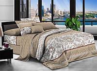 Двуспальный набор постельного белья Ранфорс №258