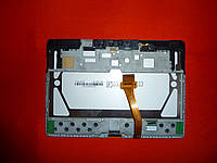 LCD модуль Samsung P5100 Galaxy Tab 2 с рамкой (тачскрин дисплей) ОРИГИНАЛ Б/У