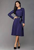 Платье женское стильное с поясом