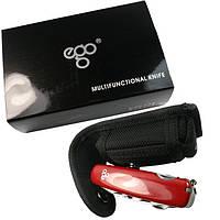 Нож Ego A01.18 красный, фото 1
