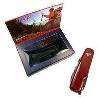 Нож Ego A01.8, красный, фото 1