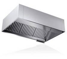 Зонт кухонный вытяжной пристенный прямоугольный  350x600x800