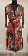 Платье весеннее трикотажное цветноеElegance Miss Франция