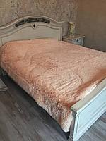 Меховое одеяло покрывало с наполнителем