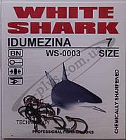Крючок рыболовный / IDUMEZINA / №7 / White Shark