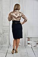 Женское платье платье 0402 цвет синий размер 42-74, фото 4