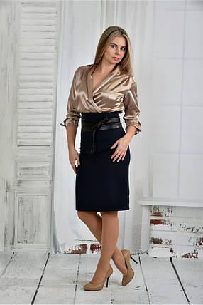 Женское платье платье 0402 цвет синий размер 42-74 / батал, фото 2