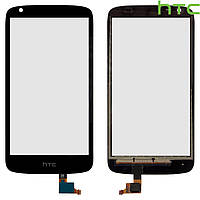 Touchscreen (сенсорный экран) для HTC Desire 526, черный, оригинал