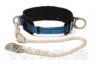 Пояс предохранительный безлямочный с канатным стропом (3ПБ)