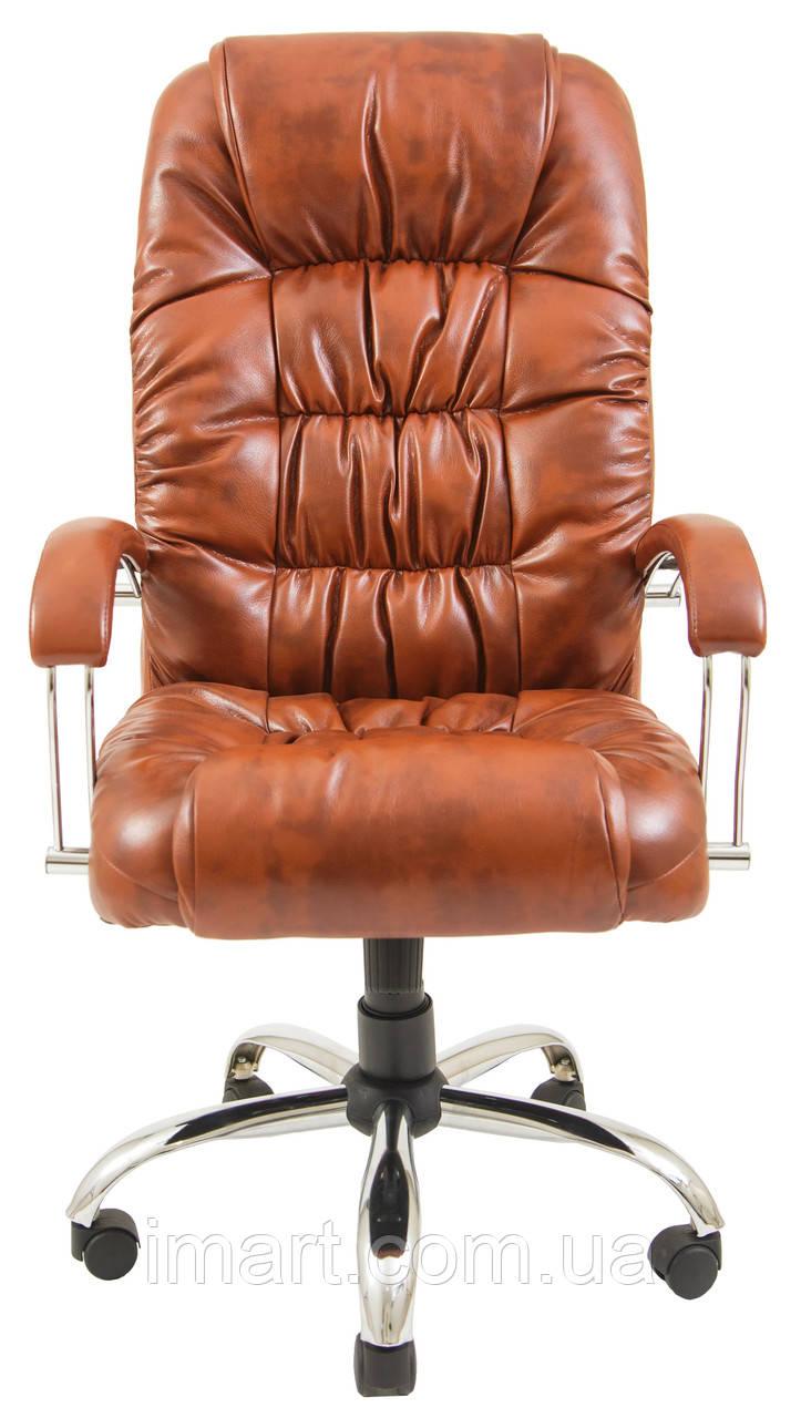 Купить Кресло для руководителя Ричард хром к/з Флай/Неаполь, Richman