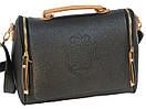 Женская сумка формы саквояж из качественной искусственной кожи BW4001 Черный