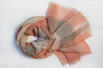 Шарф Одри персиковый
