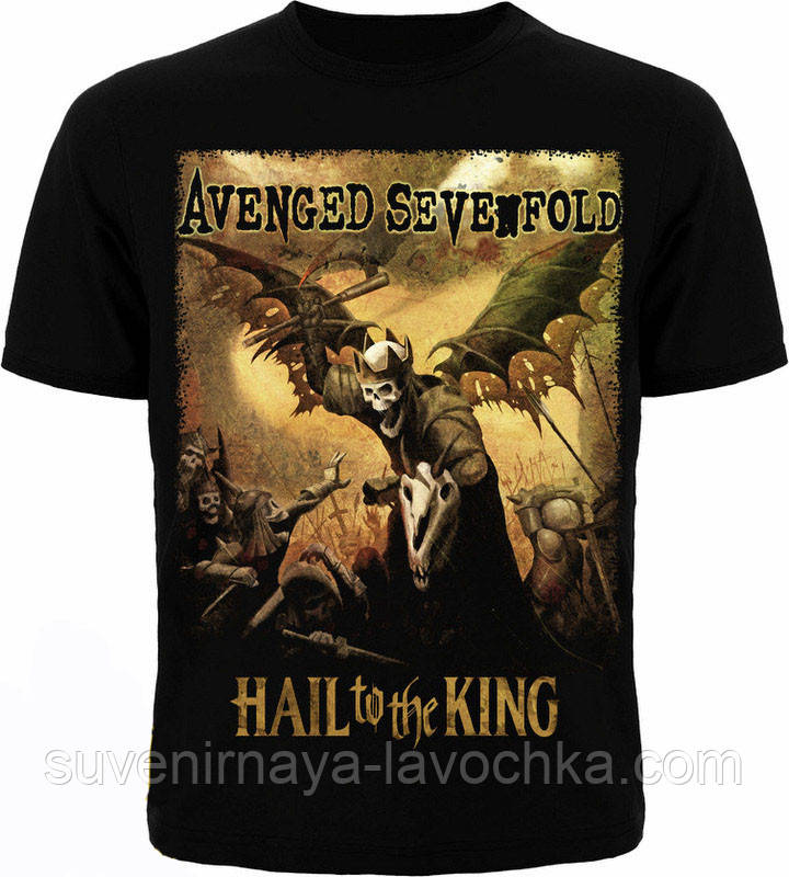 Рок футболка Avenged Sevenfold Hail to the King