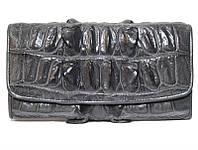 Кошелёк из кожи крокодила (PCM 03 BT Grey), фото 1