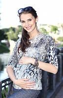 Джемпер для беременных Alessia, леопард