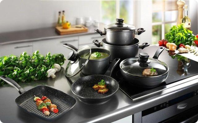 Посуда, кухонные принадлежности, столовые приборы