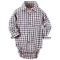 "Боди - рубашка ""Якорь"" Carters (225G393), мальчик"
