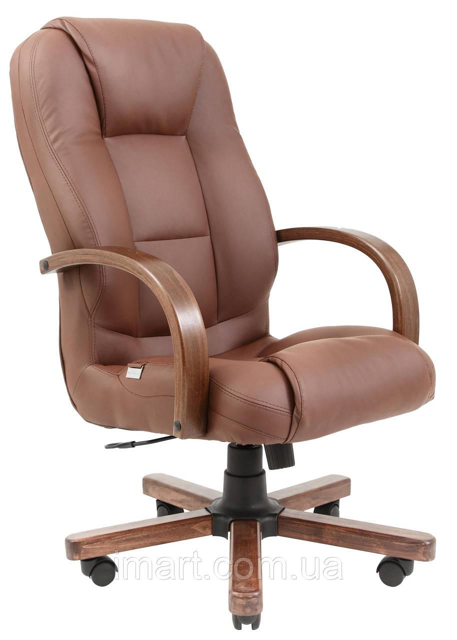 Купить Кресло для руководителя Севилья вуд к/з Флай/Неаполь, Richman