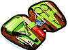 Набор для маникюра из 6 предметов KDS 4-7103 brown
