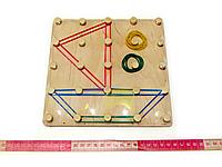 "Математический планшет игрушка ""Фантазируем с резиночками"" (90016), фото 1"