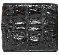 Мужской кошелек из кожи крокодила (ALM 04 BT Black), фото 1