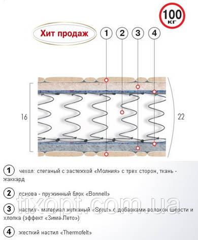 Матрац пружинный «МИРАЖ», фото 2