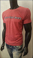 Мужская футболка с рисунком Calvin Klein