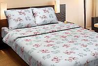 Красивое хлопковое полуторное постельное белье Lotus PARICE розовый LT12