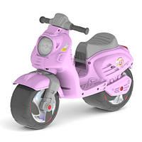 Детская каталка-толокар Скутер, Орион 502. Розовый