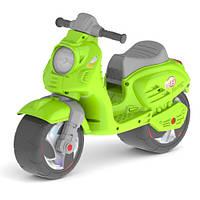 Детская каталка-толокар Скутер, Орион 502. зеленый