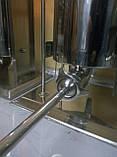 Шприц профессиональный колбасный вертикальный VEKTOR-GRT15L 15 литров, фото 6