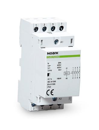 Модульний контактор, 40 A, котушка 220/230 V, 1NC+1NO, фото 2